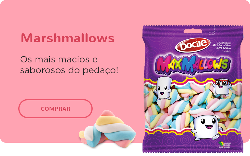 Banner mosaico - Marshmallows