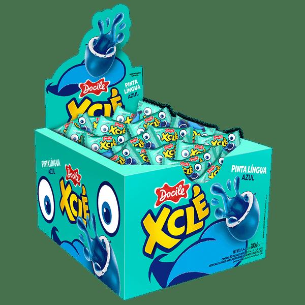 Xcle-pinta-lingua-azul